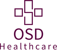 OSD Healthcare stacked- Aubergine