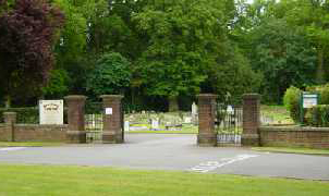 Image of Kingshill Cemetery in Berkhamsted