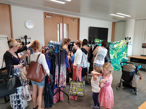 Dacorum Borough Council Clothes Swap event
