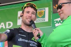 Cyclist Mark Cavendish