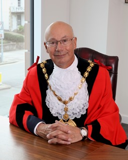 Councillor David Collins is the Mayor of Dacorum for 2017-18