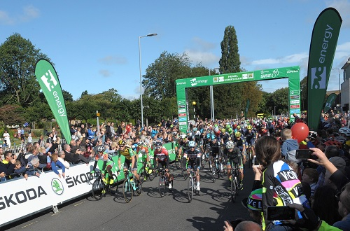 Start of the Tour of Britain in Hemel Hempstead
