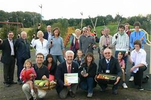 Image showing Community Award winners 2010 MERA