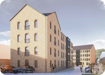 Stationers Place development in Apsley