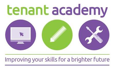 Logo for the Dacorum Borough Council Tenant Academy