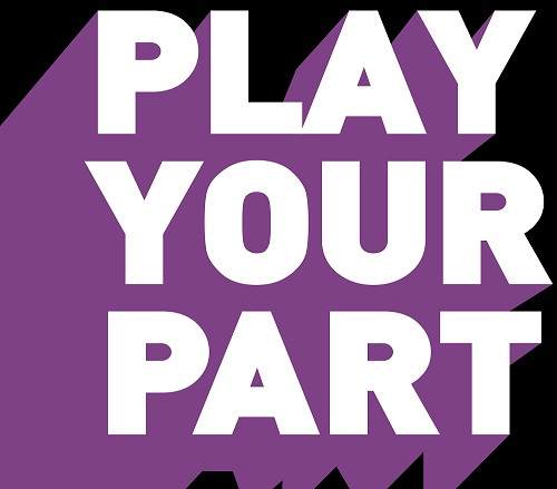 Play Your Part campaign logo