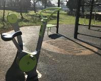 Gadebridge Park outdoor gym bike