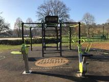 Gadebridge Park outdoor gym
